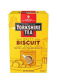 Yorkshire Tea Biscuit Brew 40 Bags 112g