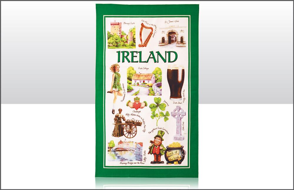 Iconic Ireland Tea Towel
