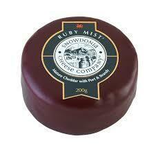 Snowdonia Ruby Mist Mature Cheddar Port&Brandy 7oz