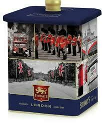 Stewarts London Selection Shortbread Barrell 450g