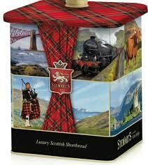 Stewarts Scottish Collection Shortbread Barrell 450g