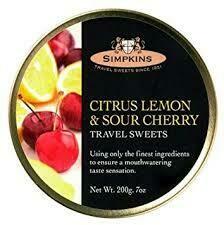 Simpkins Citrus Lemon 200g