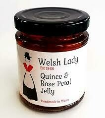 Welsh Lady Quince & Rose Petal Jelly 227g