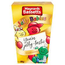 MB Jelly Babies Carton 400g