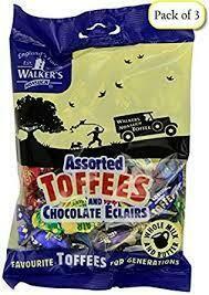 Walker's Asstd Toffees 150g