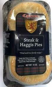 Cameron's Steak & Haggis Pies 2 pk