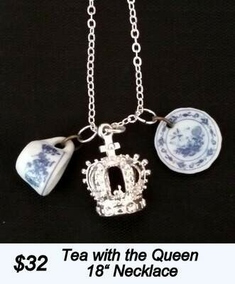 Tea With The Queen Necklace