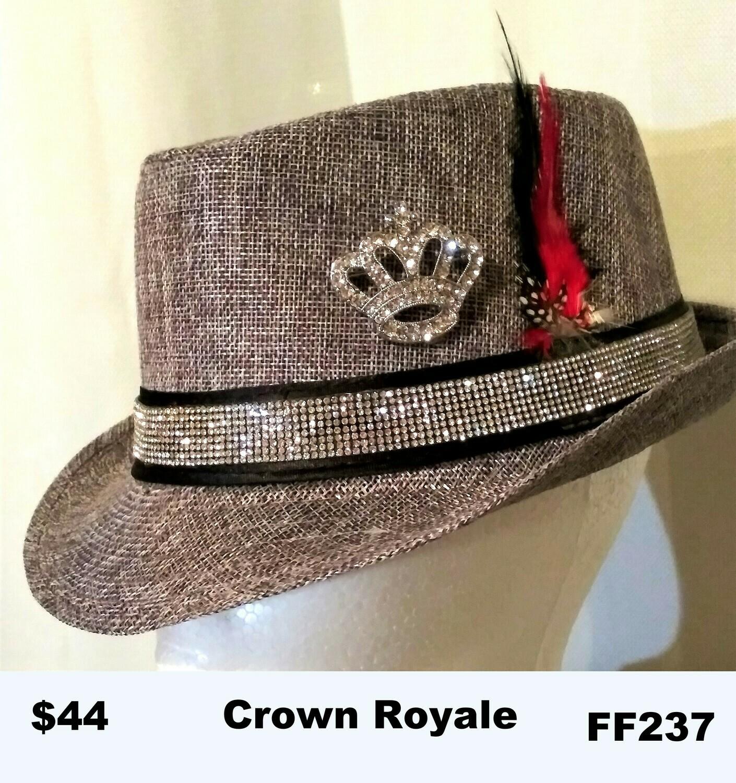 British themed Fedora Crown Royale FF237