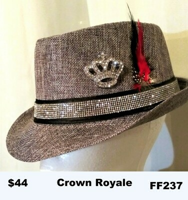 British themed Fedora Crown Royale FF237
