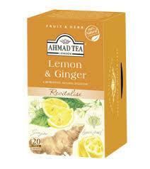 Ahmad Tea Lemon & Ginger 20's