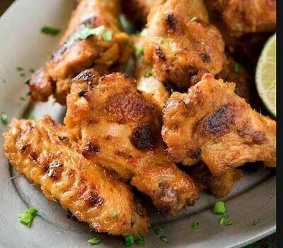 Lemongrass Vietnamese chicken wings