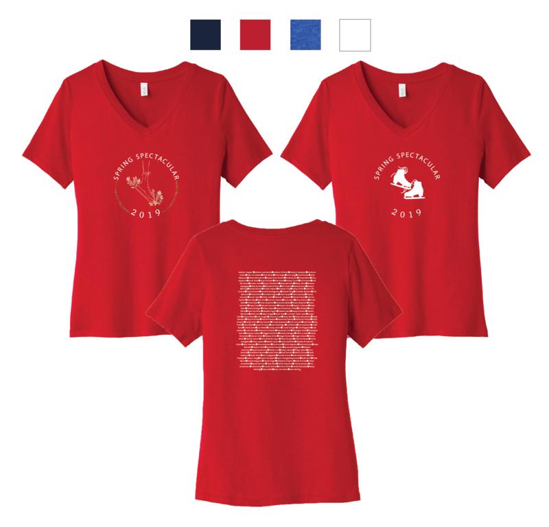 V-Neck Shirts - Ladies