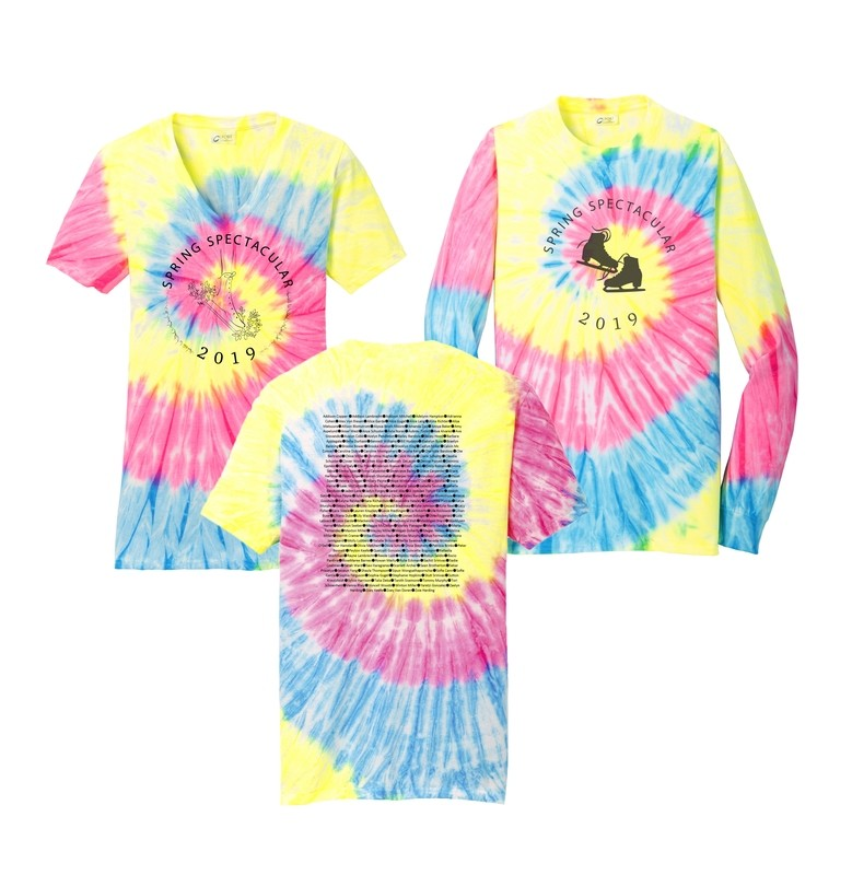 Tie Dye Shirts - Short Sleeve, Long Sleeve & V-Neck - Adult and Youth