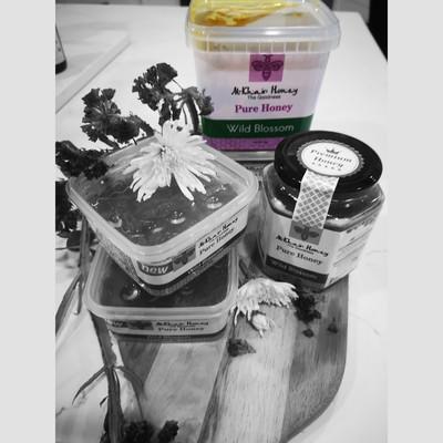 Pure Honey, Wild Blossom, 1kg Tub