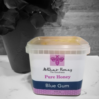 Pure Honey, BlueGum, 1kg Tub