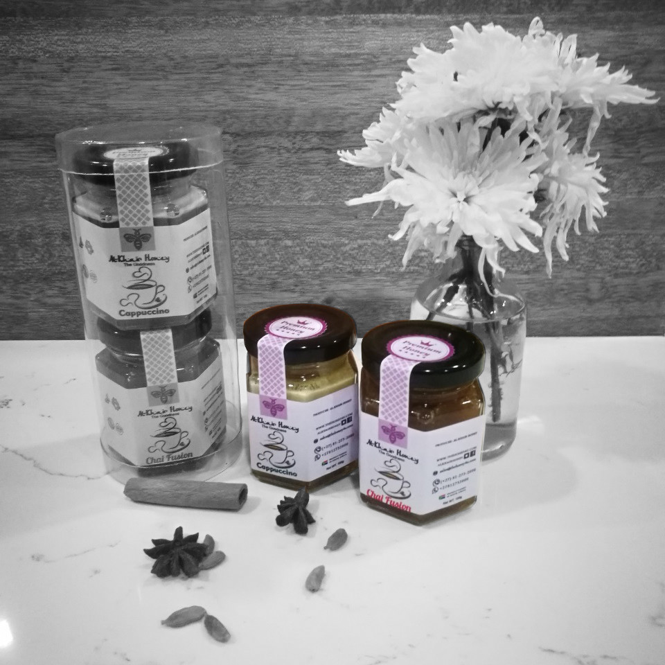 Infused Honey, Cappuccino & Chai Fusion