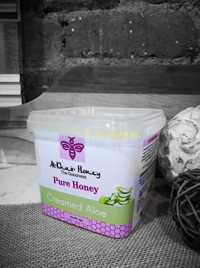 Pure Honey, Creamed Aloe, 1kg Tub