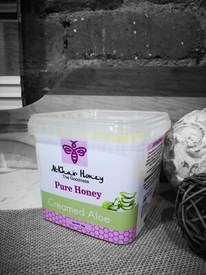 Pure Honey, Creamed Aloe, 1kg Tub