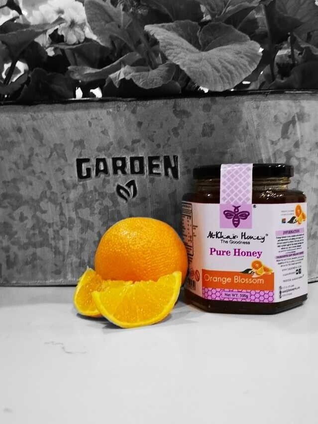 Pure Honey, Orange Blossom, 500g, Glass Jar