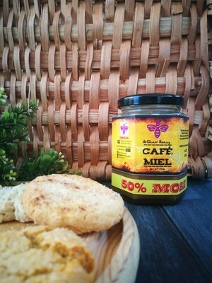 Cooking Aid Range, Cafe Miel. 370g Glass Jar