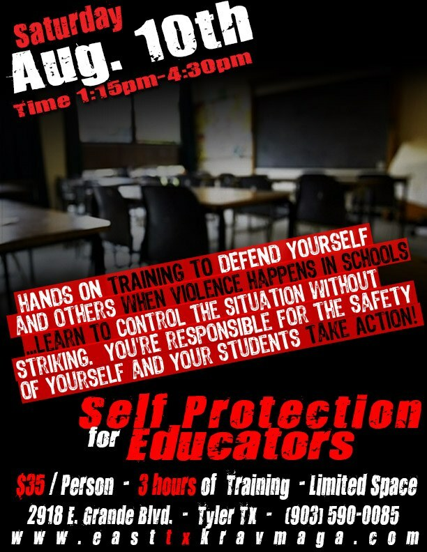 Self Protection for Educators 00014