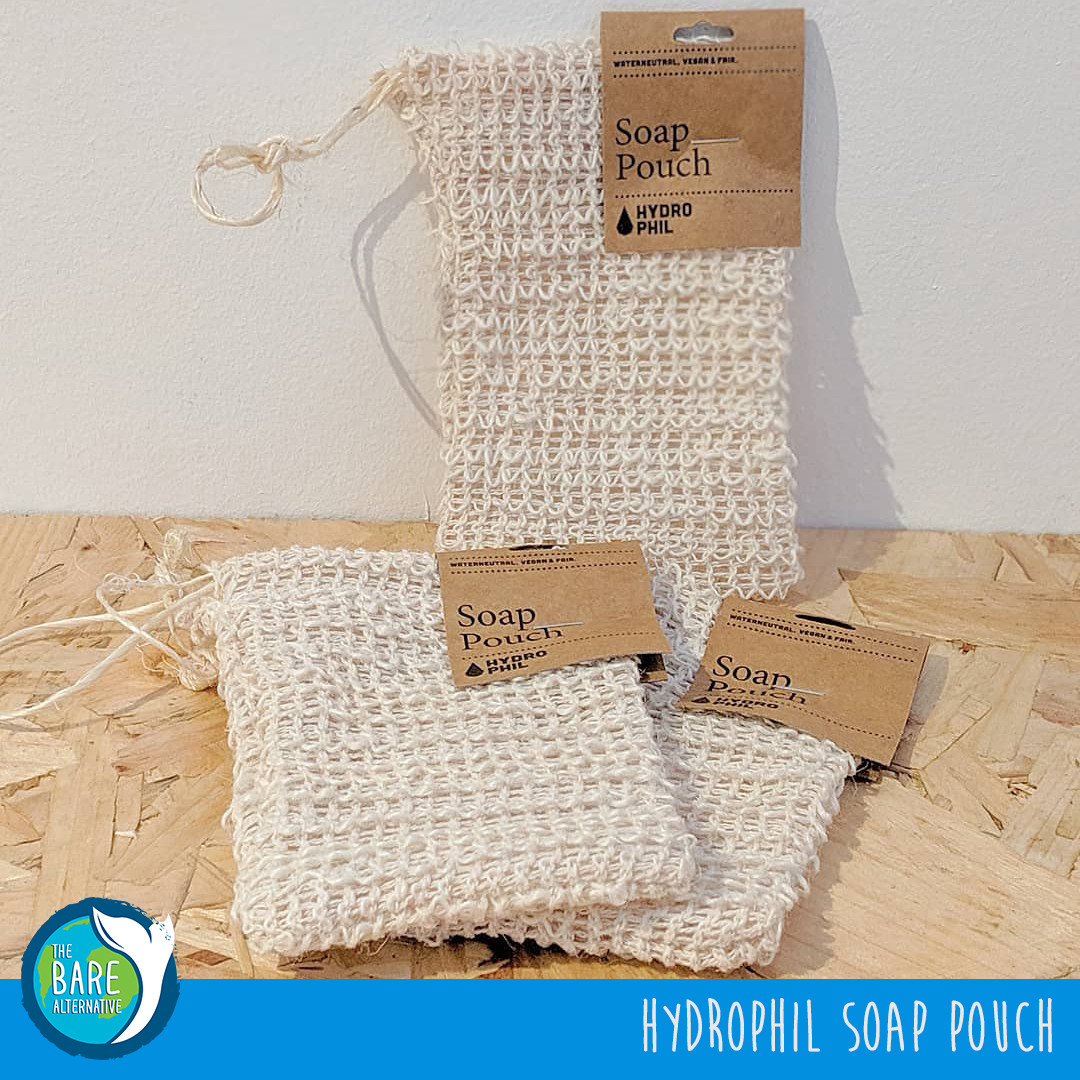 Hydrophil Soap Pouch made from biodegradable sisal