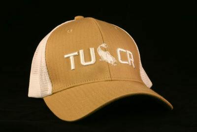 TUCR ATHLETIC MESH TAN/WHITE HAT TAN/WHT