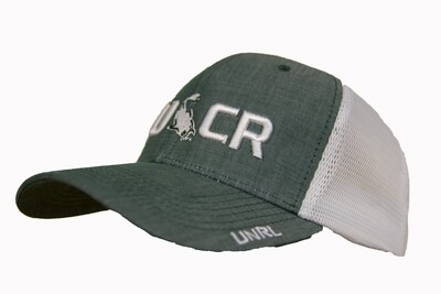 TUCR ATHLETIC MESH FOREST/WHITE HAT FOREST/WHT