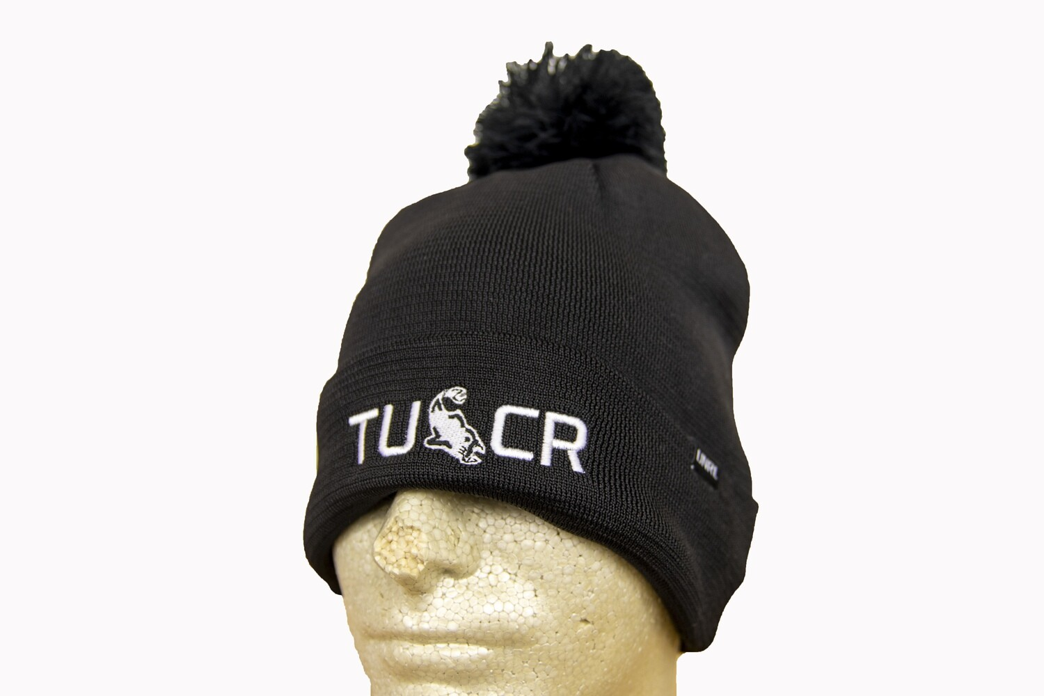 TUCR ELITE WINTER KNIT BLACK HAT BLACK