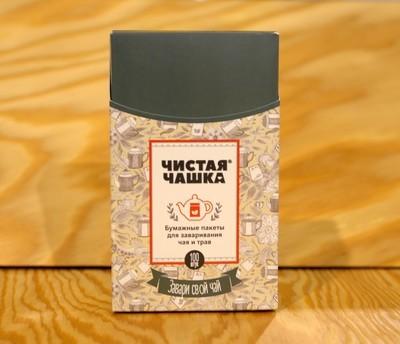 Фильтр-пакеты для заваривания чая и трав,