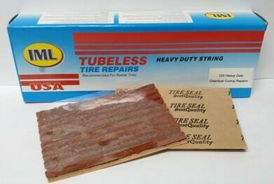 TUBELESS PLUGS/120 THIN (3MM) **BROWN
