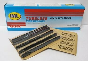 TUBELESS PLUGS/60 **BLACK