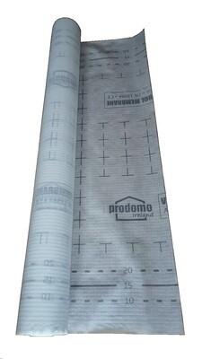 prodomo XV air tight & vapour control membrane, 1.5 x 50m