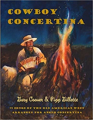 Cowboy Concertina: 75 Songs of the Old American West - Paperback