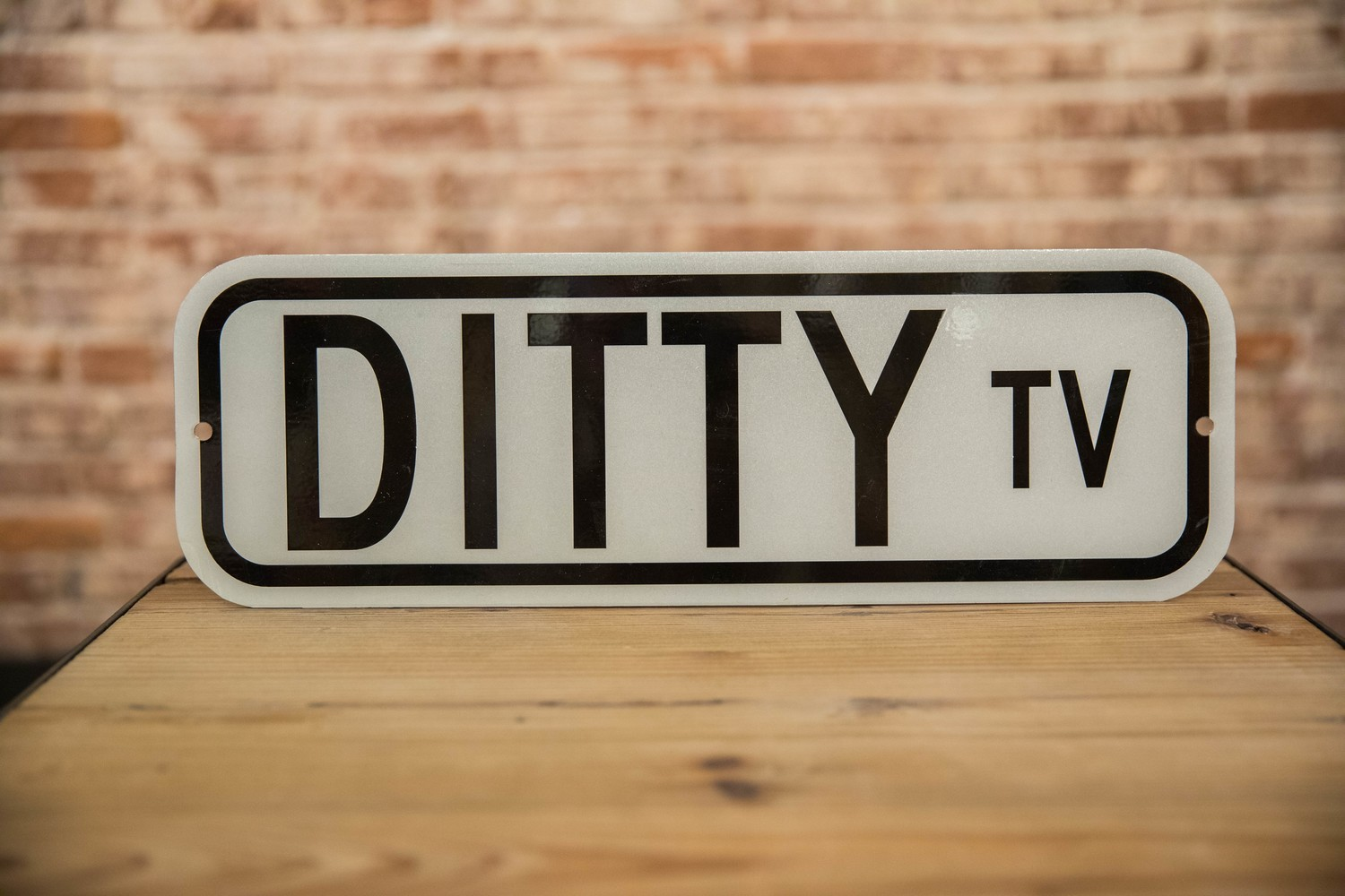DittyTV Road Sign