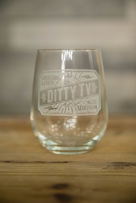 DittyTV Wine Glass