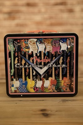 Fender Guitars Custom Shop 8 Inch Metal Lunchbox Tote