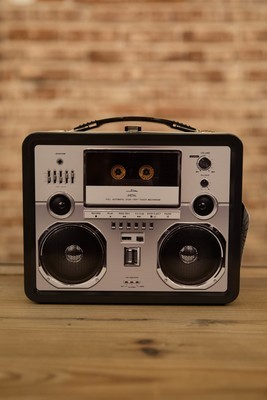 Boombox Large Tin Fun Box