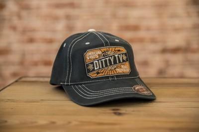 DittyFLEXFIT Contrast Stitch Ball Cap - Navy
