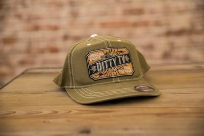DittyFLEXFIT Contrast Stitch Ball Cap - Loden