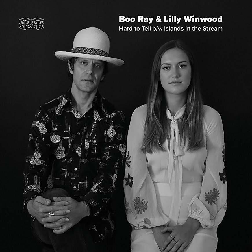 Hard To Tell b/w Islands in the Stream - Boo Ray & Sean Brock 45 RPM