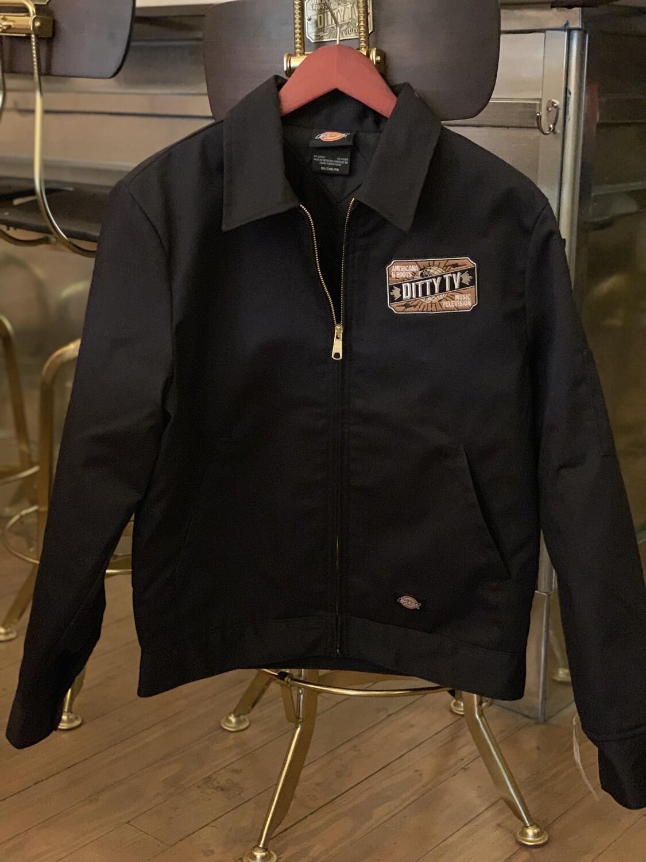 DittyTV Dickies Black Jacket