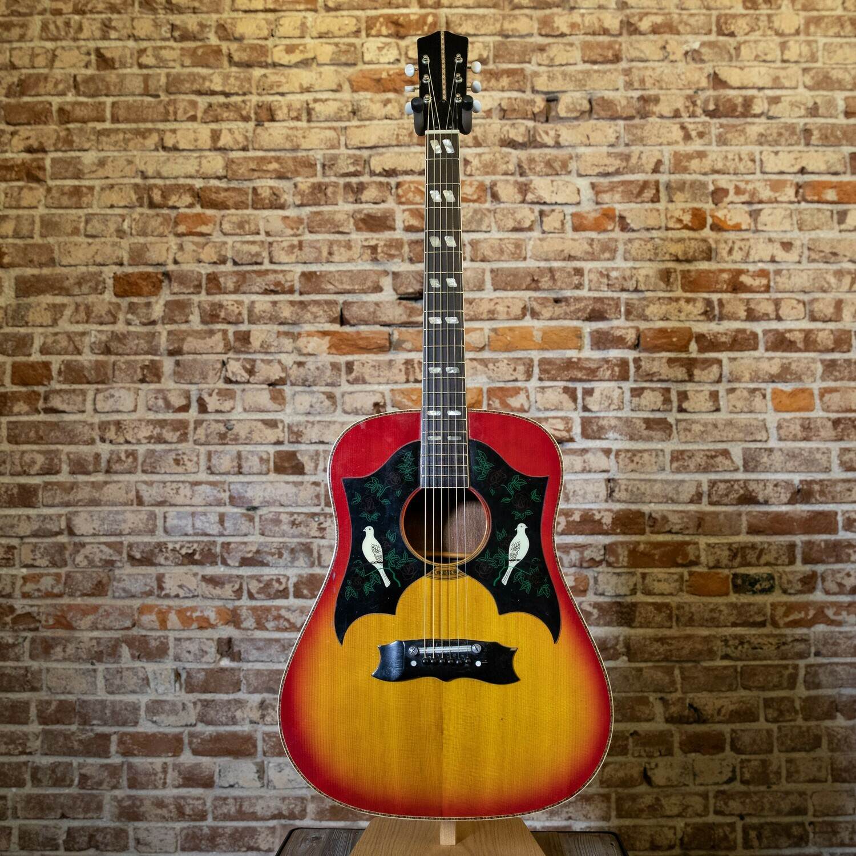 1974 Dove Sunburst Guitar