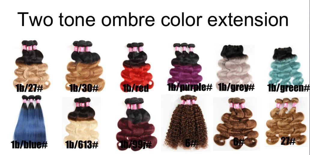 Two-Tone Ombre Wefts (3 Weft Combo)