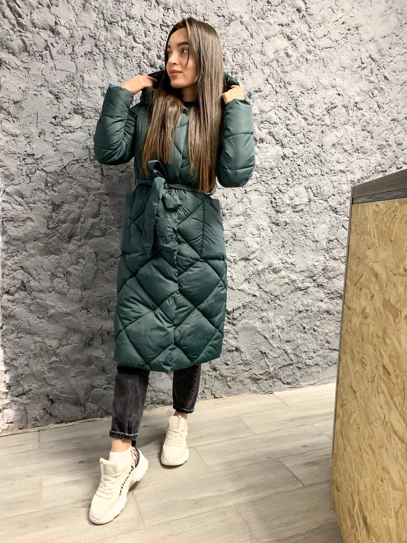 Куртка зимняя с поясом