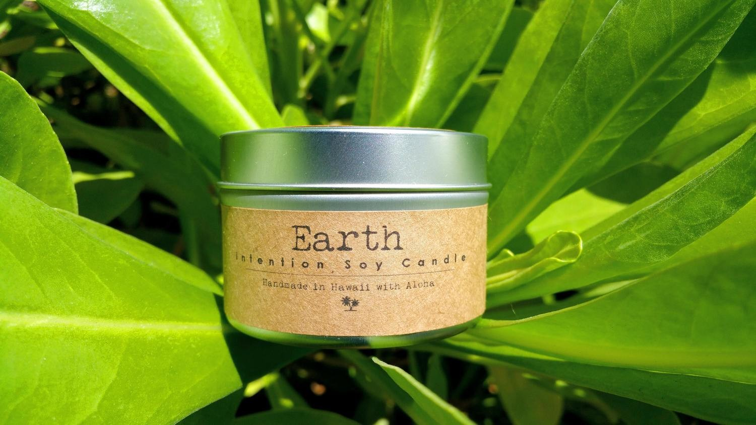 Earth Soy Intention Candle