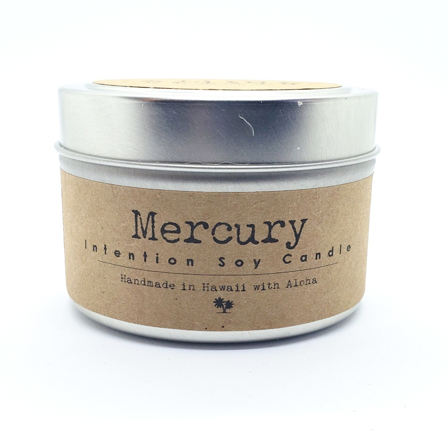 Mercury Soy Intention Candle