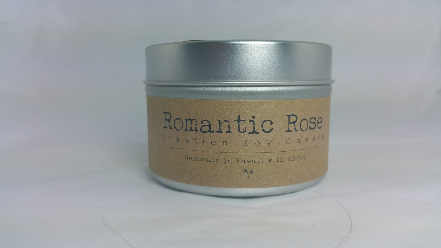 Romantic Rose Soy Intention Candle
