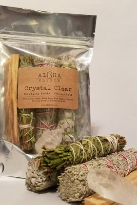 Crystal Clear- Smudging Sticks Variety Pack