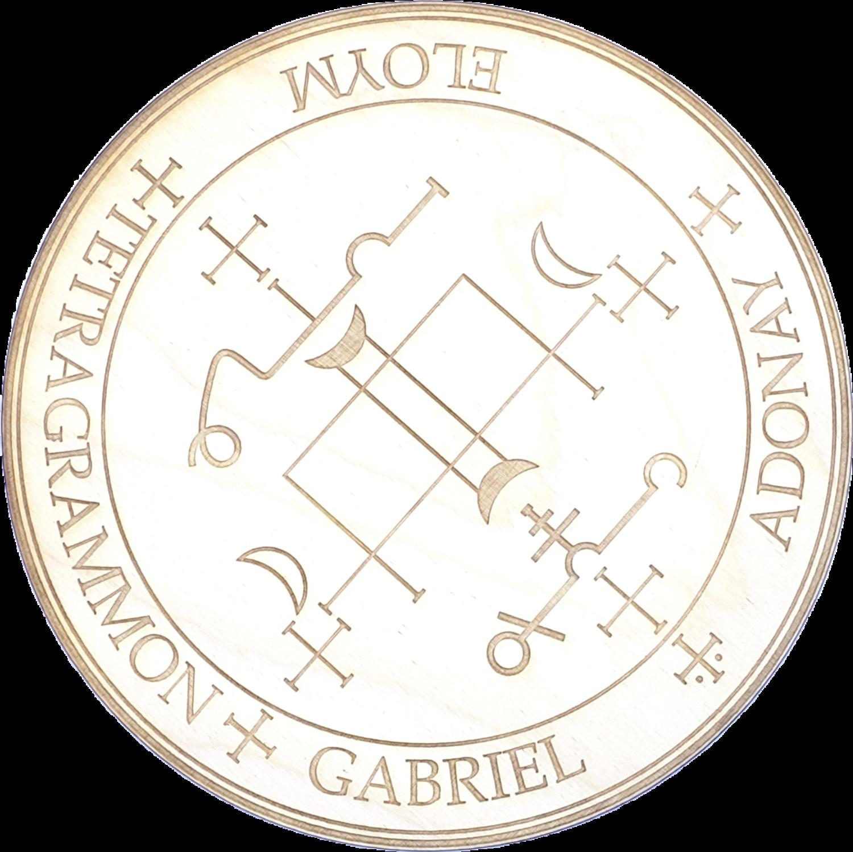 Archangel Gabriel Wood Angel